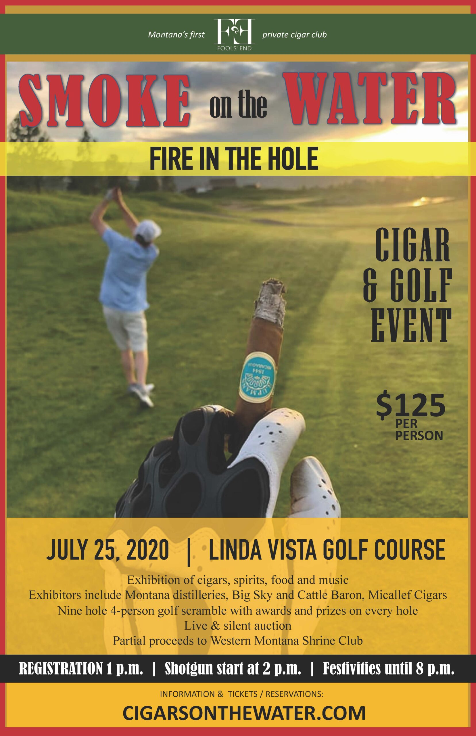Fire in the Hole Golf Tournament